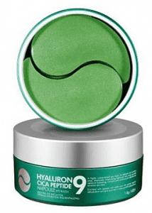 Успокаивающие гидрогелевые патчи с пептидами MEDI-PEEL Hyaluron Cica Peptide 9 Ampoule Eye Patch