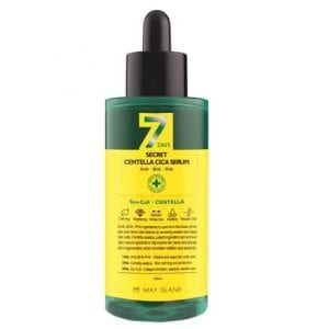 Обновляющая сыворотка для проблемной кожи May Island 7 Days Secret Centella Cica Serum AHA/BHA/PHA