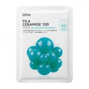 Маска для усиления барьерного слоя Ottie Fila Ceramide 100 Mask