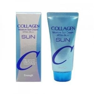 Увлажняющий солнцезащитный крем с коллагеном Enough Collagen Moisture Sun Cream SPF50+ PA+++
