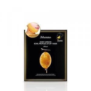 Маска для подбородка с лифтинг эффектом JM Solution Honey Luminous Royal Propolis Lift-Up V Mask-Black