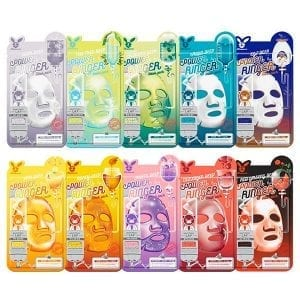 Увлажняющие тканевые маски Elizavecca Deep Power Ringer Mask Pack