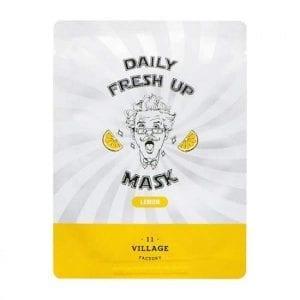 Успокаивающая маска с лимоном Village 11 Factory Daily Fresh UP Mask Lemon