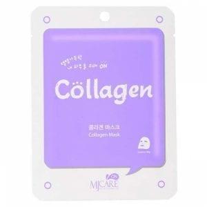 Маска для лица с коллагеном MIJIN COSMETICS MJ ON Collagen Mask