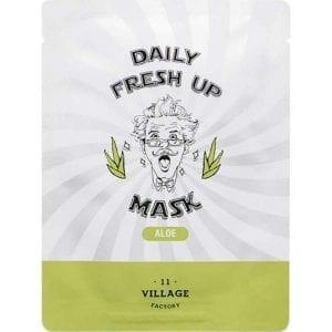 Успокаивающая маска с алоэ Village 11 Factory Daily Fresh UP Mask Aloe