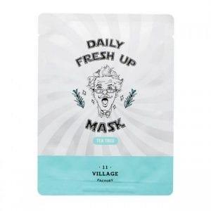 Успокаивающая маска с чайным деревом Village 11 Factory Daily Fresh UP Mask Tea Tree