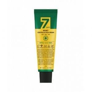 Восстанавливающий крем для проблемной кожи May Island 7 Days Secret Centella Cica Cream AHA/BHA/PHA
