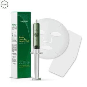 Карбокси очищающая и омолаживающая детокс-маска Trimay Green-Tox Carboxy Mask