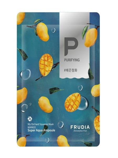 Смягчающая маска с экстрактом манго FRUDIA My Orchard Squeeze Mask Mango