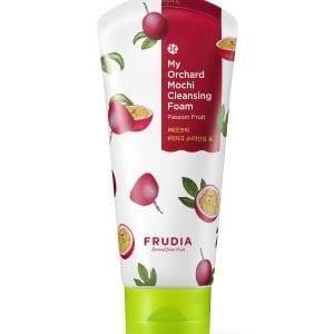 Отшелушивающая пенка с маракуйей Frudia My Orchard Passion Fruit Mochi Cleansing Foam