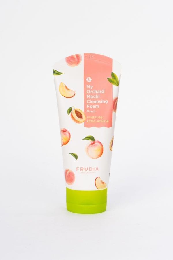 Успокаивающая пенка с персиком Frudia My Orchard Peach Mochi Cleansing Foam