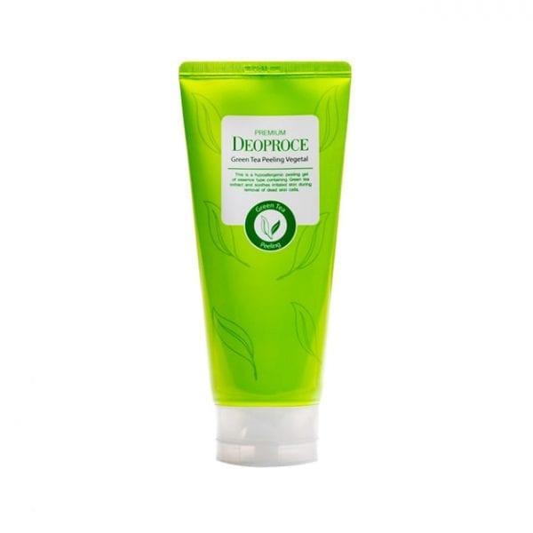 Пилинг-скатка с экстрактом зеленого чая Deoproce Premium Green Tea Peeling Vegetal