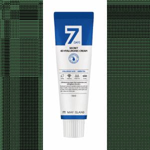 Увлажняющий крем с 4-мя видами гиалуроновой кислоты May Island 7 Days Secret 4d Hyaluronic Cream
