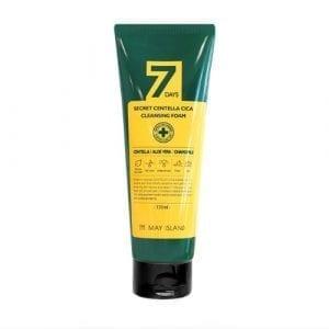 Очищающая пенка для проблемной и чувствительной кожи May Island 7 Days Secret Centella Cica Cleansing Foam