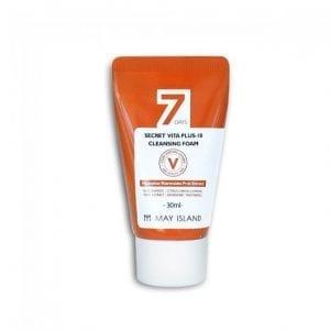 (Миниатюра) Очищающая пенка с осветляющим эффектом May Island [Miniature] 7Days Secret Vita Plus-10 Cleansing Foam