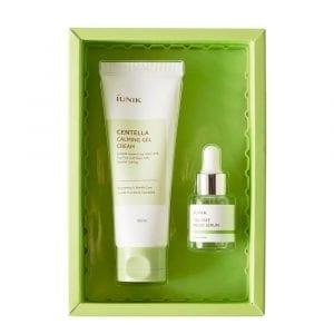 Набор для проблемной кожи с центеллой и чайным деревом iUnik Centella Edition Skincare Set