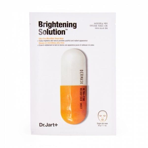 Осветляющая тканевая маска Dr. Jart+ Dermask Micro Jet Brightening Solution
