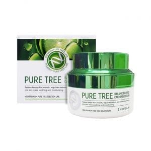 Крем для лица c экстрактом чайного дерева Enough Premium Pure Tree Balancing Pro Calming Cream