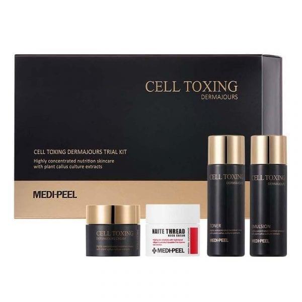 Набор миниатюр восстанавливающих средств Medi-Peel Cell Toxing Dermajours Trial Kit