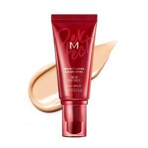 Антивозрастной увлажняющий ВВ-крем Missha M Perfect Cover BB Cream RX #23 50 ml