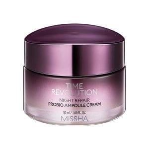 Антивозрастной ночной крем с ретинолом Missha Time Revolution Night Repair Probio Ampoule Cream