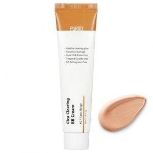 ВВ крем с экстрактом центеллы Purito Cica Clearing BB Cream (№27 Sand Beige)