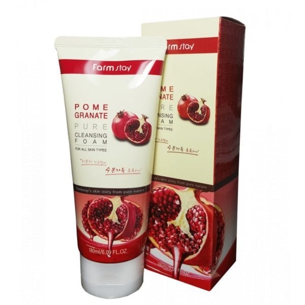 Очищающая пенка с гранатом Farm Stay Pomegranate Pure Cleansing Foam