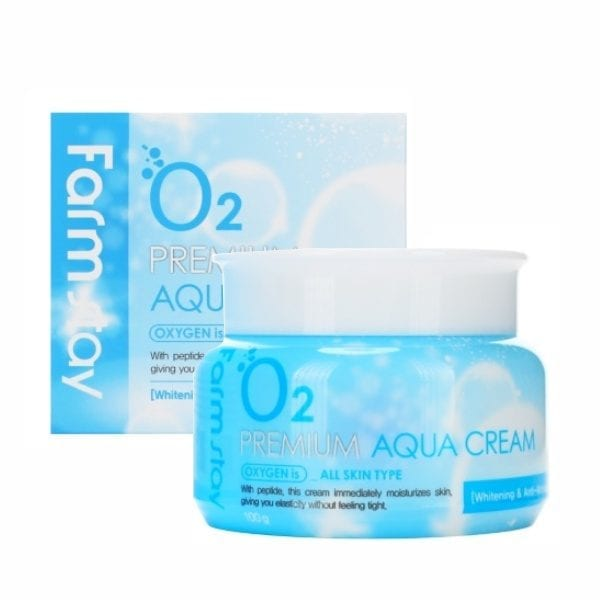 Кислородный крем для лица Farmstay O2 Premium Aqua Cream