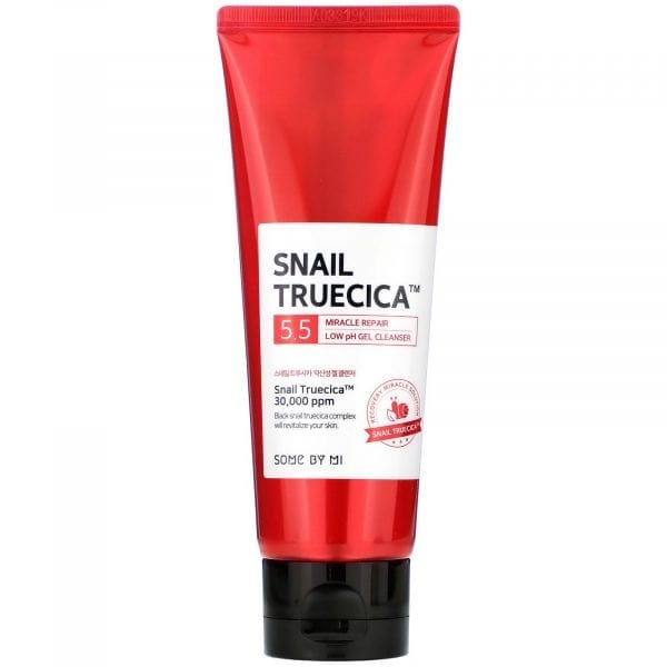 Слабокислотный гель с муцином улитки Some by Mi Snail Truecica Miracle Repair Low Ph Gel Cleanser