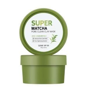 Глиняная маска для очищения пор Some by Mi Super Matcha Pore Clean Clay Mask