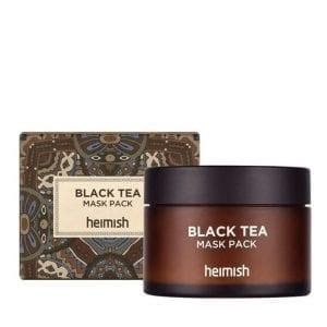 Противоотечная лифтинг-маска с экстрактом черного чая Heimish Black Tea Mask Pack