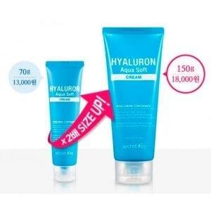 Увлажняющий гиалуроновый крем (обновленная версия) Secret Key Hyaluron Aqua Soft Cream/Renewal
