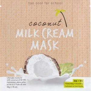Увлажняющая тканевая маска с кокосовым молоком Too Cool For School Coconut Milk Cream Mask