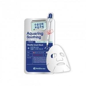 Увлажняющая тканевая маска WellDerma Aquaring Soothing Weekly Smart Mask