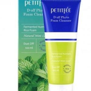Фито-пенка для глубокого очищения PETITFEE D-off Phyto Foam Cleanser